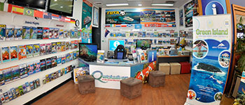 Located on the Cairns esplanade. CTABC shop.