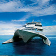 Quicksilver cruises operate from Port Douglas
