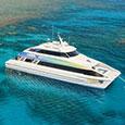 TUSA dive & snorkel Boat Cairns.